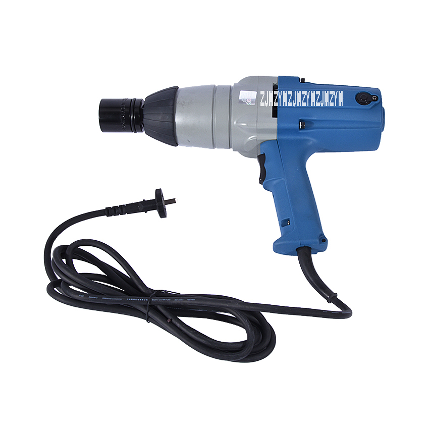 1pc 588N.m Electric Wrench M16-M22 Impact Wrench 220-240v/50hz 620W Electric Impact Wrench Socket 3/4 inch Square Drive
