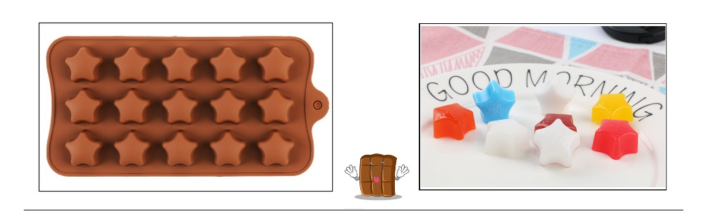 29 Shapes Silicone Baking Molds Made Of Pure Silicon Material For Jelly And Candy Mold 23