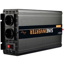 Inverter 12V/24V 220V 230V 2500W/5000W Voltage transformer Pure Sine Wave Power Inverter DC12V to AC 220V Converter