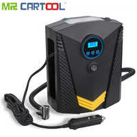 Mr Cartool Amagle Portable 12V DC 120W Tire Air Compressor Pump Auto Tire Inflator for Car Motorcycle Bicycle wheels