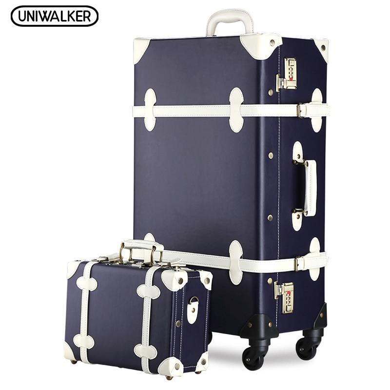 Popular Vintage Travelling Luggage-Buy Cheap Vintage Travelling ...