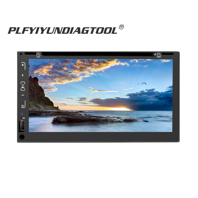7 inch 2 din touch screen car stereo digital radio Android Mp3 Mp5 DVD multimidia player auto GPS Navigation Wifi Bluetooth