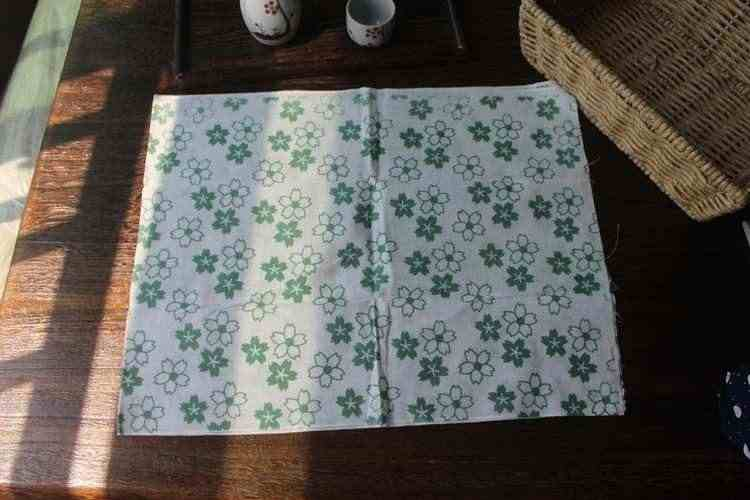 Japão Envoltório do lenço de pano furoshiki cotton100 %/impresso 35*90 cm/produtos de cozinha/muitos usos