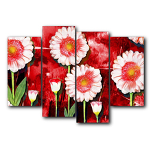 Top Selling Classic Canvas Painting Vintage Wall Art Flowers Posters and Prints Home Living Room Bedroom Decoration Frameless top posters холст top posters 50х75х2см g 1044h