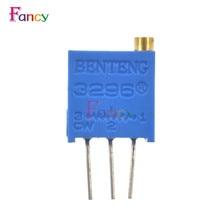 Potentiometer-Kit Electronic-Diy-Kit Trimmer Multiturn 20pcs with Free-Box 3296W Variable-Resistor