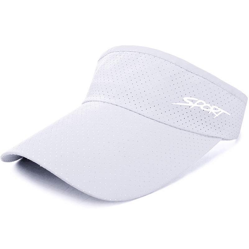163505bb5225 Summer Jogging Golf Sun Visor Cap for Men Women Quick Dry Breathable ...
