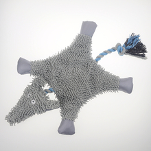In 2016 the new Oxford cloth short plush toys for dogs and cats, pet toys, chewing voice, with a rope, pet cleaning teeth