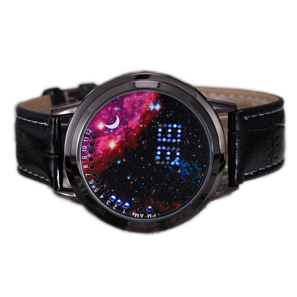 Top Quality 20pcs/lot Sports Watch Foreign Trade Digital Watches Led Touch Watch Leather Belt Electronic Wristwatches Free Ship To Win A High Admiration And Is Widely Trusted At Home And Abroad. Watches