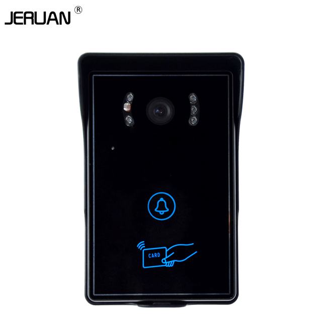 JERUAN Waterproof video door phone intercom sysytem outdoor speaker intercom IP55 waterproof