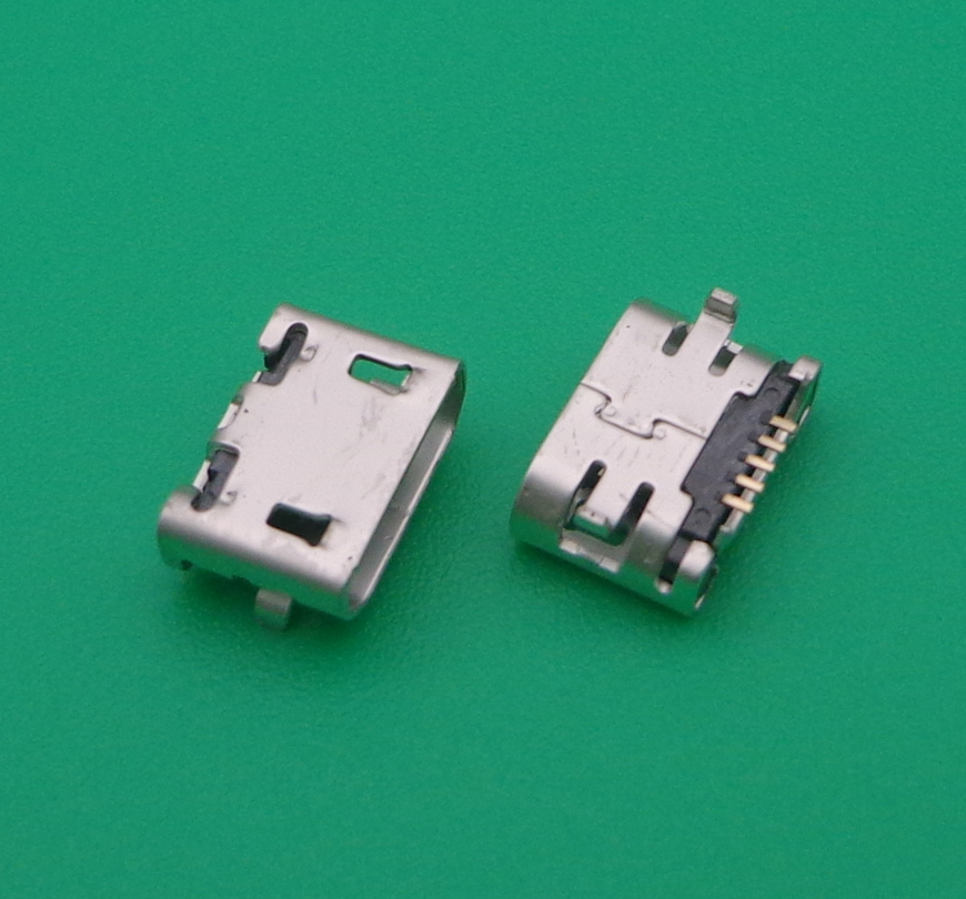 20pcs 5 pin for <font><b>Sony</b></font> D2004,<font><b>D2005</b></font>,D2104,D2105 <font><b>Xperia</b></font> <font><b>E1</b></font> DS,D2114 TV micro USB jack socket type-B Charge port Connector image