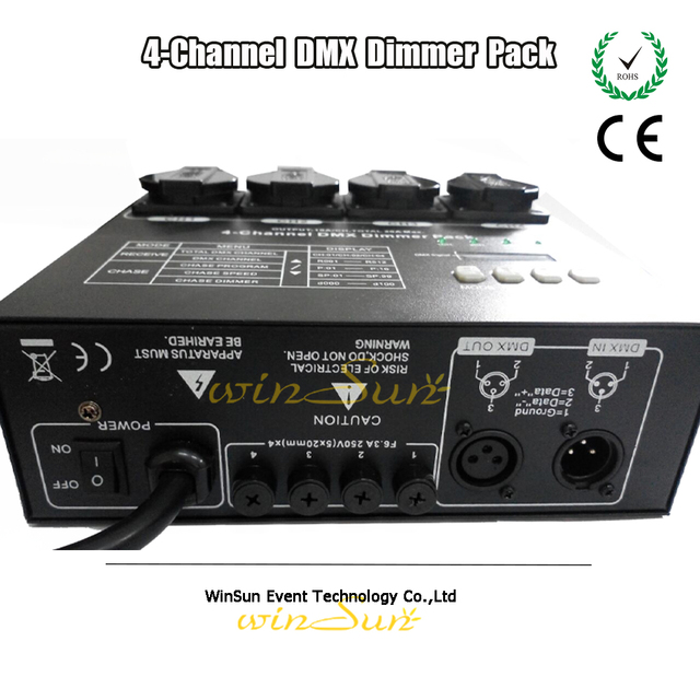Stage Light Fixtures 4 Channel DMX Dimmer Pack Dimming Controller Adjustable Lighting Speed Dim or Switch  sc 1 st  AliExpress.com & Stage Light Fixtures 4 Channel DMX Dimmer Pack Dimming Controller ... azcodes.com