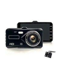 hot deal buy car dvr dual lens  vehicle camera full hd 1080p 4