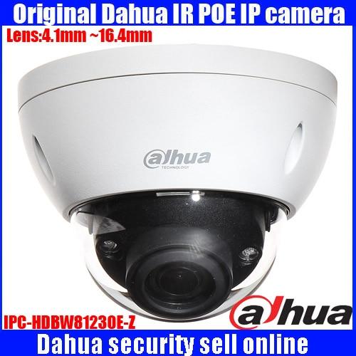 Original English firmware DAHUA vandalproof Ultra 12Megapixel 4K H 265 Dome Network Camera IPC HDBW81230E Z