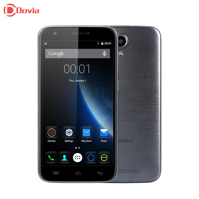 5.5 inch DOOGEE Y100 Plus 4G Smartphone MTK6735 2GB RAM 16GB ROM 8MP+13MP Cameras Quad Core OTG HotKnot Mobile phone