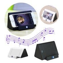 Mini Wireless Induction Speaker Portable Sensing Speakers For Phone Sensors Audio Amplifier with Stand Super Bass Loudspeaker