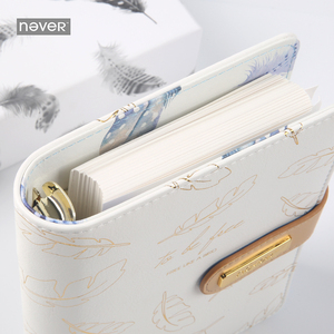 Image 4 - Never Gold Feather Series A6 Notebook & Journals Personal Diary Organizer Agenda Weekly Planner Gift Stationery School Supplies