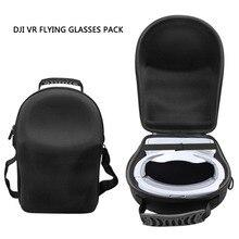 DJI очки Портативный Водонепроницаемый сумка для хранения Защитный чехол рюкзак для DJI FPV-системы очки Стекло VR чемодан несущих поле