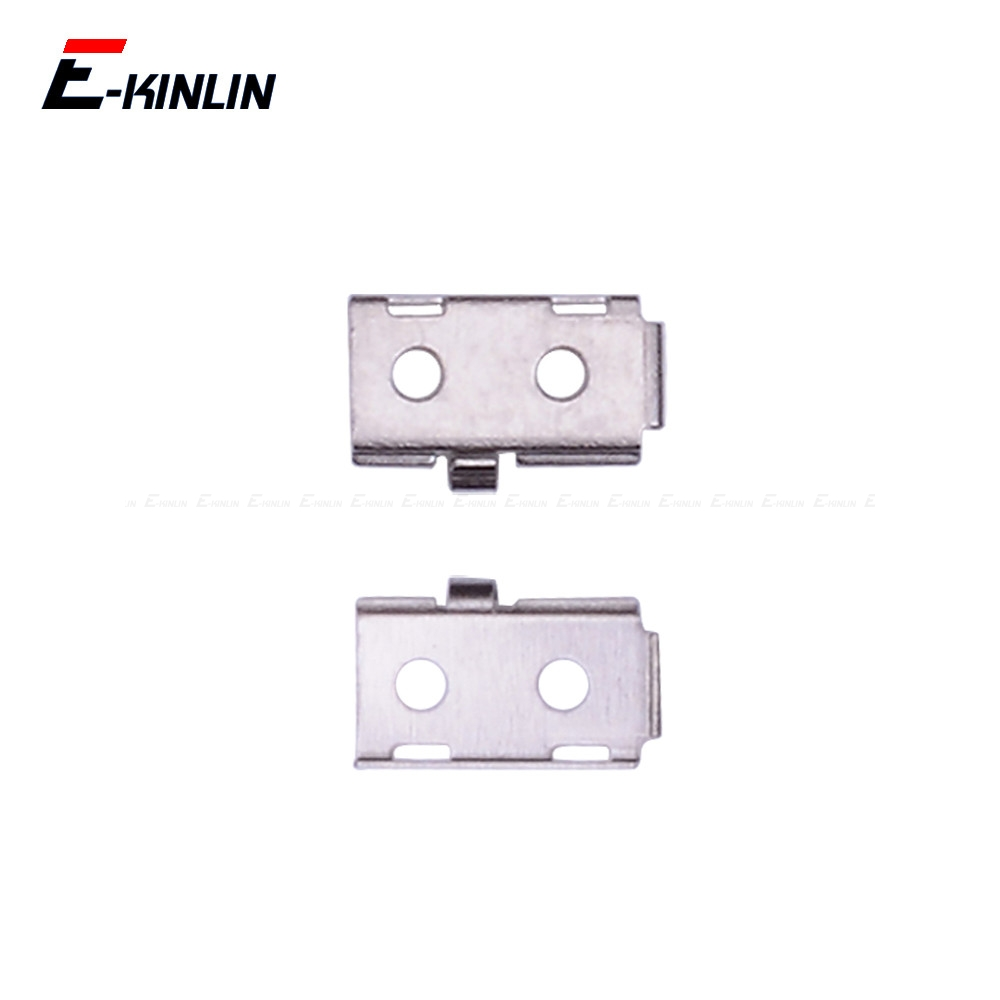 5pcs For IPhone 5S SE Touch ID Home Button Flex Ribbon Metal Holder Bracket Shield Replacment Parts