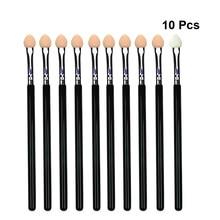 10pcs Eyeshadow Brushes Sponge Eyeshadow Applicator blending Makeup Brush cosmetic maquiagem Smudge Eye Makeup Brushes A3