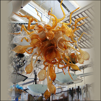 Original Projetado Blown Lustres De Vidro Handmade Blown Lustres de Vidro Murano Lustre De Vidro Soprado