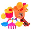 9 Pieces Beach Sand Toys Set in Mesh Bag for Kids