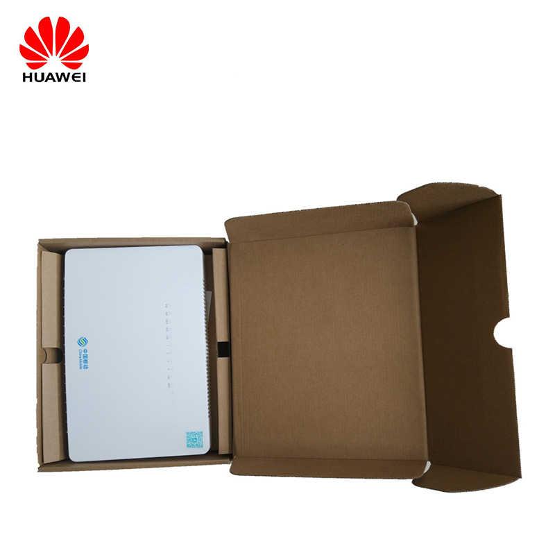 Оригинальный маршрутизатор ONT HS8546V HS 8546V GPON FTTH GPON ONU 4GE 4 порта + 1TEL + 2USB + Wifi английская прошивка для huawei MA5608T/MA5683T
