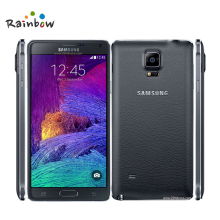 100% Original Unlocked Samsung Galaxy Note 4 Cell phone 16MP Camera 3GB RAM 32GB ROM 3G/4G 5.7'' Touch Refurbished Phone