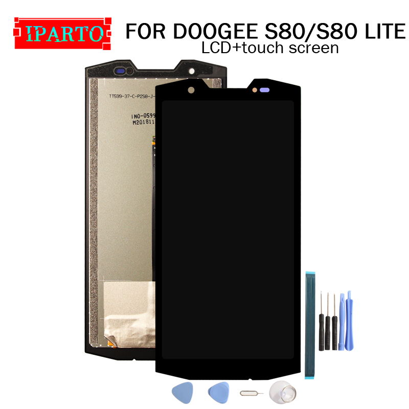 5 99 inch for DOOGEE S80 LCD Display Touch Screen Digitizer Assembly 100 Original LCD Touch