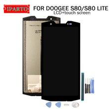5.99 Inch Voor Doogee S80 Lcd scherm + Touch Screen Digitizer Vergadering 100% Originele Lcd + Touch Digitizer Voor S80 lite + Gereedschap