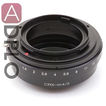 Pixco lens Adapter Suit for Contarex CRX Mount Lens to Micro4/3 M4/3 GM1 Camera GX7 GF6 GH3 E-PL6 E-P5 E-PL5 Focus infinity фото