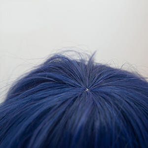 Image 3 - Anime Love Live! LoveLive! Sonoda Umi 80cm Long Mixed Blue Hair Heat Resistant Cosplay Costume Wig + Free Wig Cap