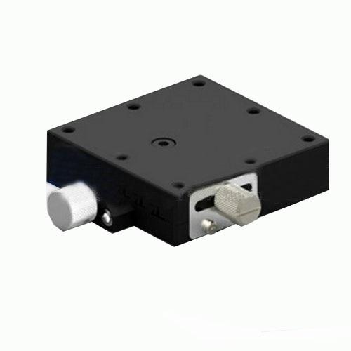 X Axis Sliding stage Swallowtail Fine-tune Platform Screw Drive LWFX60R 60*60mm