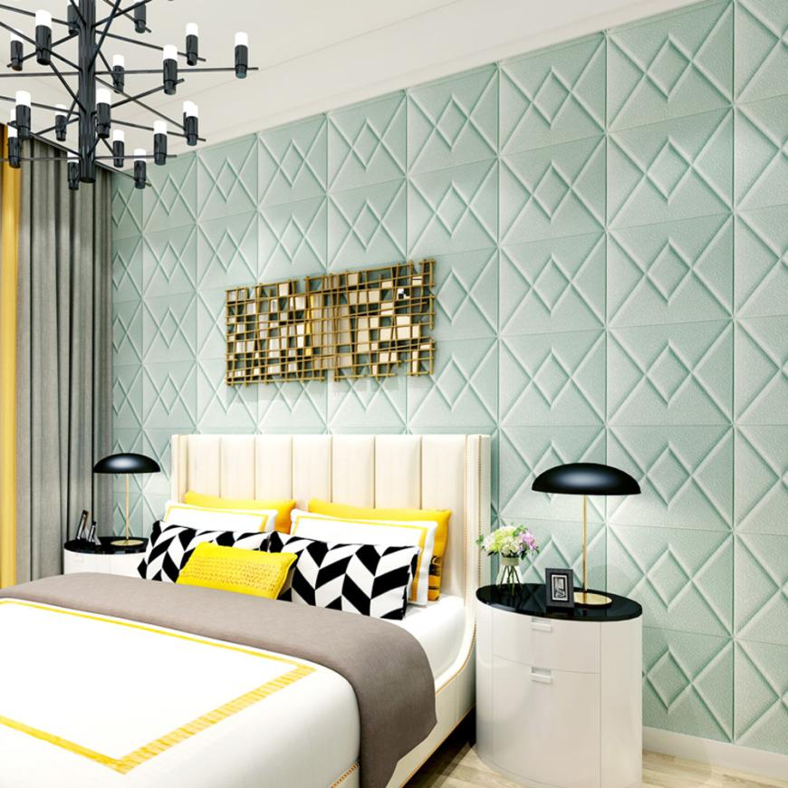 New Fashion 70 X 77cm PE Foam 3D Wallpaper DIY Wall