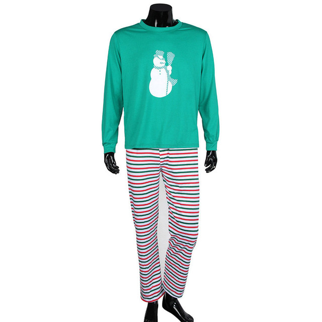 Hot Brand Adult Men Christmas XMAS Pajamas Set Sleepwear Nightwear