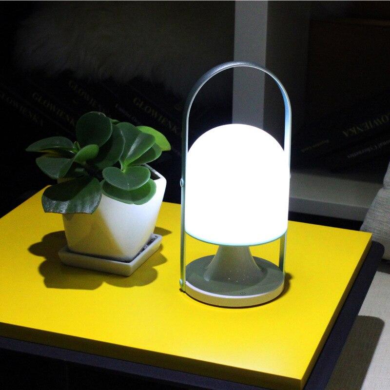 Модный открытый Портативный свет зарядка через USB с подсветкой Кемпинг ночник городка аварийное освещение Ночник настольный свет