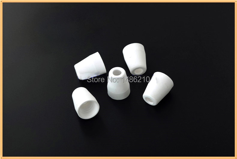 ФОТО MIA Hot Sale100pcs nozzles/cups  For 40A PT-31 Air Plasma Cutter 40D CUT40 50D CUT50
