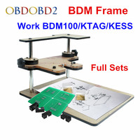 2014 Top Related BDM Frame With Aapters Works For BDM Programmer CMD 100 Full Sets Fits