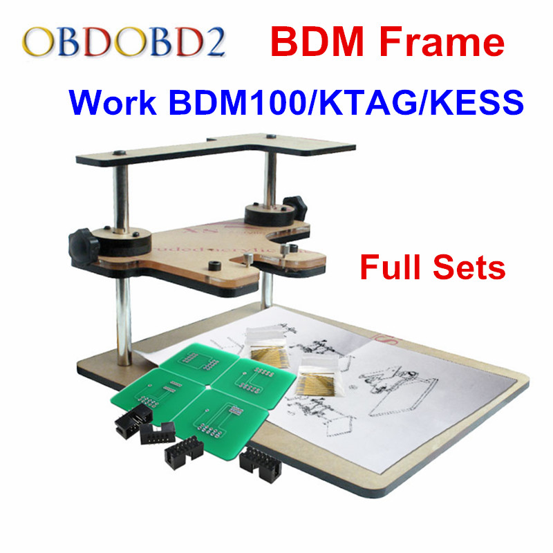 все цены на Top Related LED BDM Frame With Aapters Works For BDM Programmer 22 Adapters CMD 100 Full Set BDM Frame For K-tag KESS V2 FGTECH