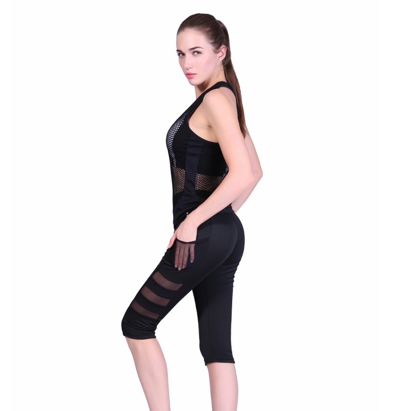 Leggings The Best 2018 Fashion Women Lady Fitness Casual Elastic Mesh Leggings S72 Back To Search Resultswomen's Clothing