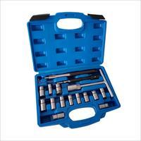 17pcs Diesel Injector Seat Cutter Set