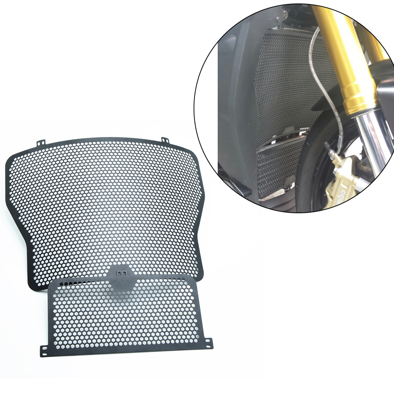 Black Moto Radiator Grille Covers Oil Cooler Guard Cover Protection For BMW S1000R S1000RR S1000XR S 1000R RR XR 2014 2015 2016 arashi motorcycle radiator grille protective cover grill guard protector for 2008 2009 2010 2011 honda cbr1000rr cbr 1000 rr