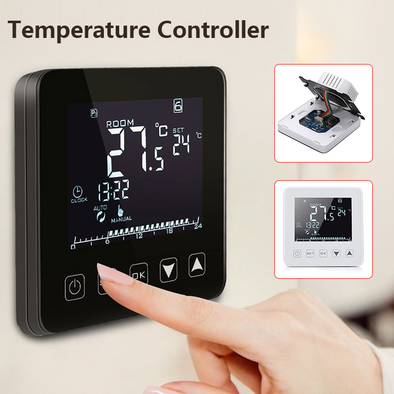 NEW Smart Thermostat Smart Thermostat Electric Heating Week Programmable 16A HY08WE Intelligent Temperature Controller Durable