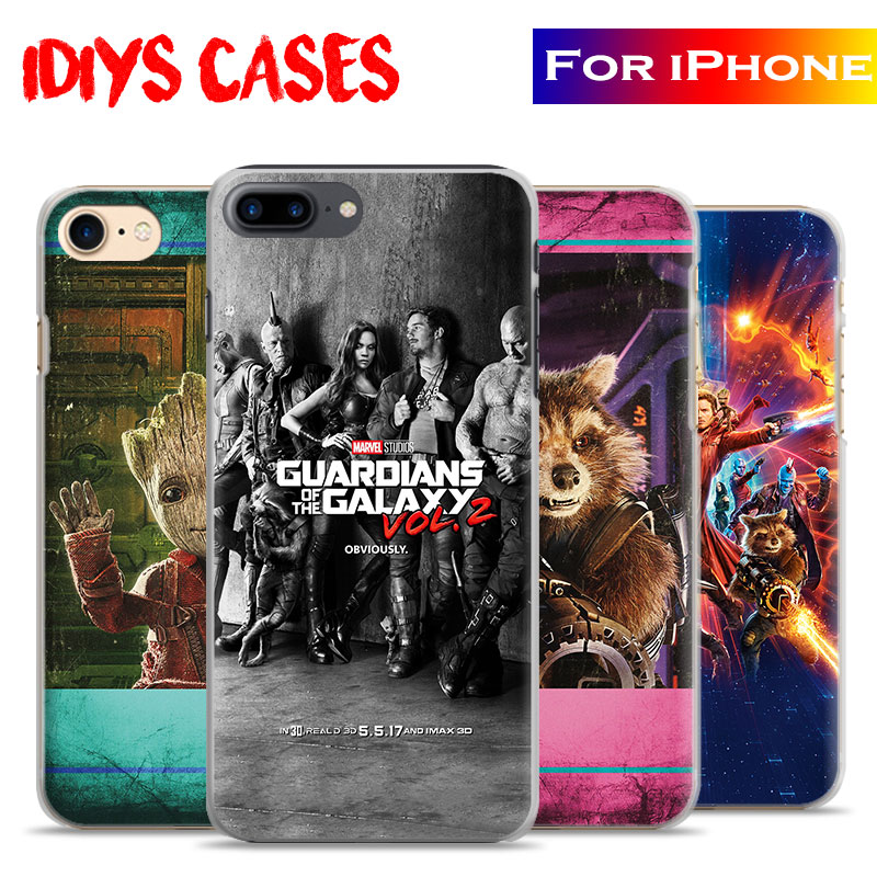 Guardians of the Galaxy Vol. 2 Movie Coque Phone Case Cover Shell Bag For Apple iPhone 7PLUS 7 6SPLUS 6S 6PLUS 6 5 5S SE 4S 4
