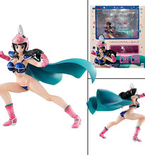 20cm Dragon Ball Gals Chi-Chi Armor Version 4 Fighting Chichi Action Figures Model Toy(China)