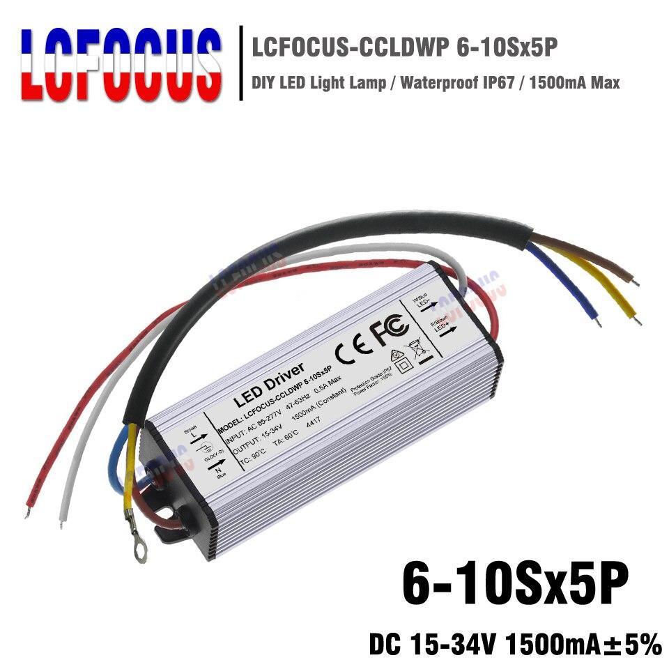 IP67 60 W module LED et /éclairage DC ext/érieur Transformateur LED /étanche IP67 12 V 60 W 5 A Bo/îtier en alliage daluminium pour bande lumineuse LED