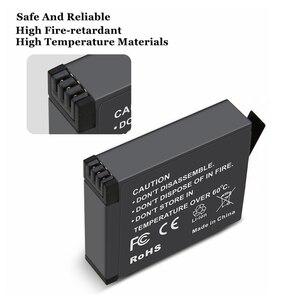 Image 4 - 2019 1/2/3 pièces pour Insta 360 batterie rechargeable + affichage Intelligent double fentes chargeur pour Insta360 One X Camer accessoires