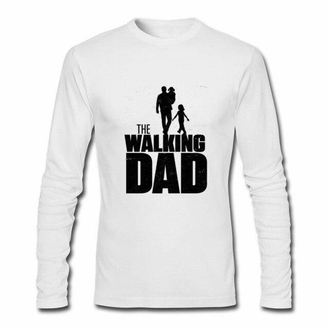 157e87a58 2018 Men O-neck Print Long Sleeve Custom Primer T Shirt Novelty Reggae The  Walking Dad T-shirt For Men For Halloween male TSHIRT