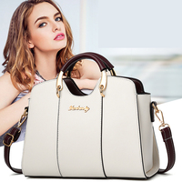 white handbag 2018 Elegant Shoulder Bag Women designer handbags high quality pu leather ladies hand bags Crossbody Bag for Women