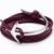 Amistad Pulseras Hombres Joyería Multi Leather Bracelet & Bangles Para Las Mujeres Pulseira Feminina Femme Encanto Nueva Negro Ganchos de Anclaje