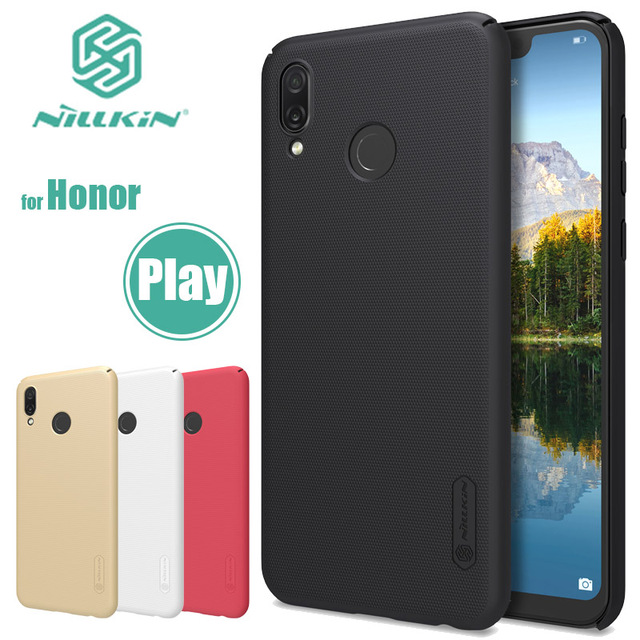 best service 3c3af c7d2d US $7.99 5% OFF for Huawei Honor Play Nillkin Super Frosted Shield Hard  Back Cover Case Nilkin Huawei Honor Play Phone Case + Screen Protector-in  ...